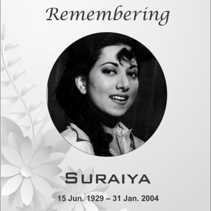 remembering Actress and Singer Suraiya