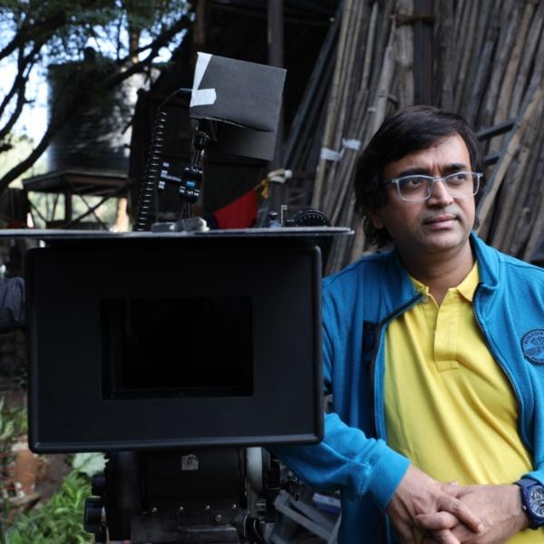 Director Viju Mane for Pandu Movie