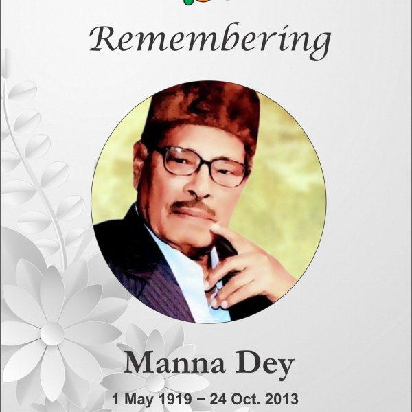 Remembering Manna Dey