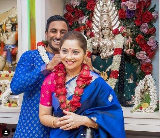 Actress Sonalee Kulkarni Ties Knot with Kunal Benodekar, Announces Marriage