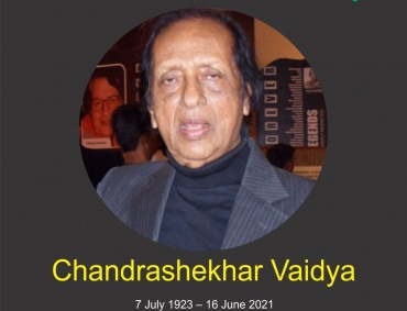 Tribute to Veteran Actor and Director Chandrashekhar Vaidya who passed away today at the age of 97
