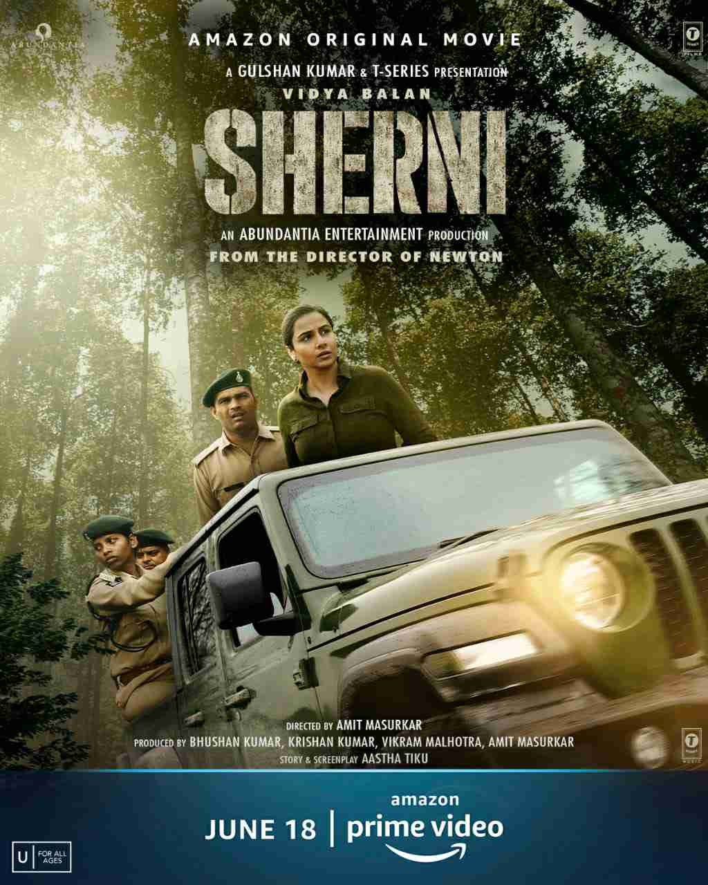 Movie Review of the film Sherni featuring Vidya Balan released on Amazon Prime Video