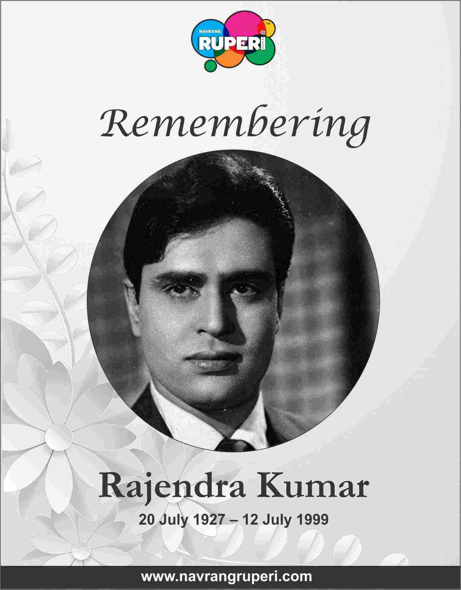 Remembering Hindi Cinema's Jubilee Star from Golden Era Rajendra Kumar