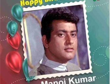 Icon of Patriotism in Hindi cinema Actor Manoj Kumar