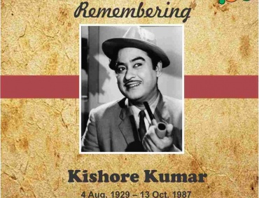 Remembering Kishore Kumar the Legendary Singer of Hindi Cinema