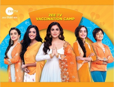 Zee TV kickstarts Covid Vaccination Camp for its viewers