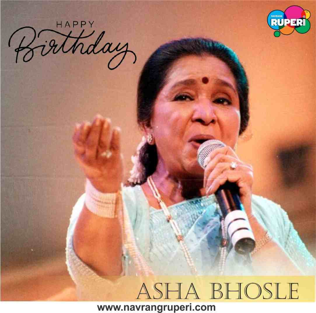 Birthday Greetings to the Legendary Singer Asha Bhosle