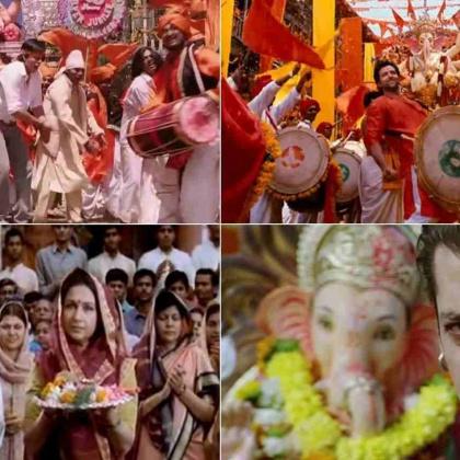 Revisiting Ganesh Festivals and Ganpati Songs in Hindi and Marathi Cinema