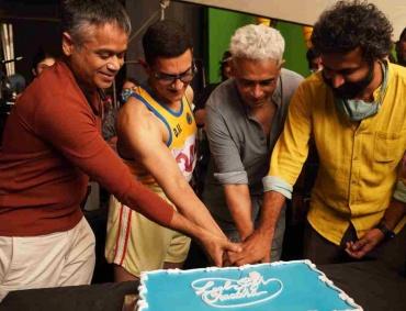 Shooting of Aamir Khan Productions 'Lal Singh Chadha' starring Aamir Khan and Kareena Kapoor Khan is complete