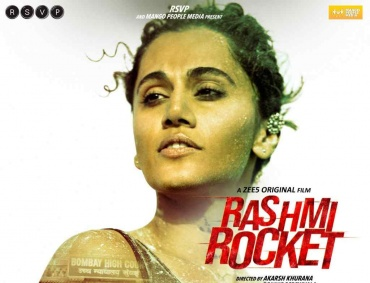 Zee5 announces its upcoming original film 'Rashmi Rocket' Starring Taapsee Pannu