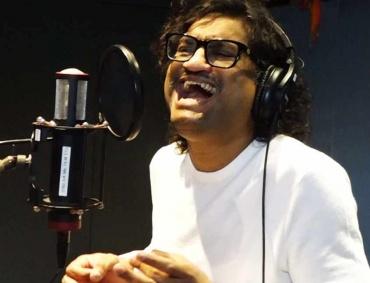 Singer and Music Director Ajay Gogavle Sings for upcoming Marathi Film Soyarik.