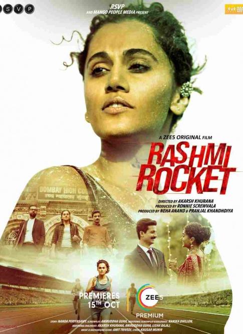 Rashmi Rocket Official Trailer